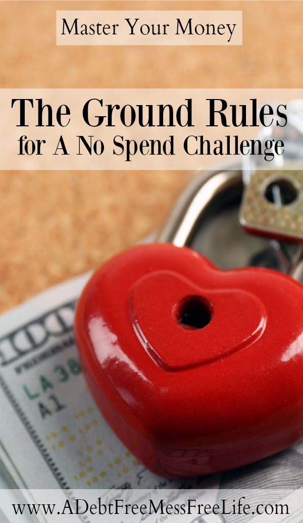 Ever wonder what goes in to the Ground Rules for a No Spend Challenge? The strategy I share helps to ensure you're saving money and managing your budget appropriately all month long but is completely dependant on your specific needs!