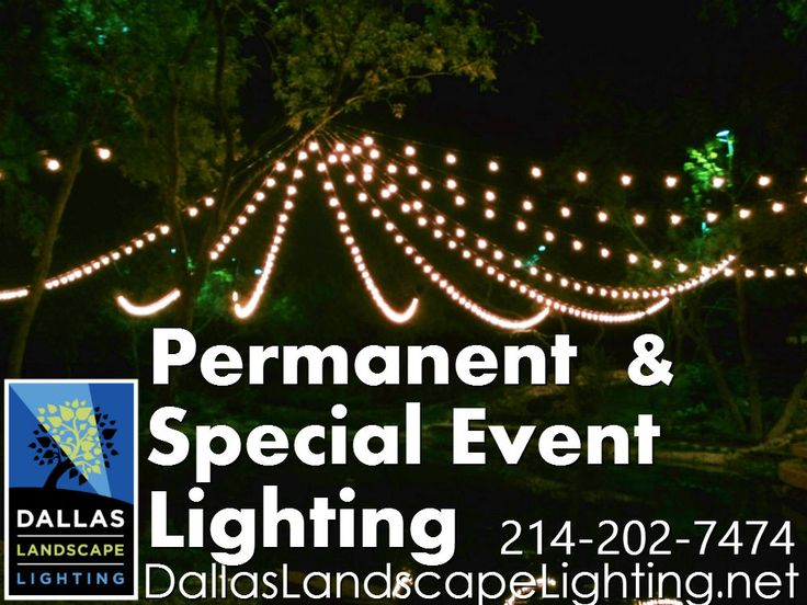 77 best string party lights installation by dallas landscape dallas landscape lighting installs permanent and temporary string party lighting call 214 202 aloadofball Images
