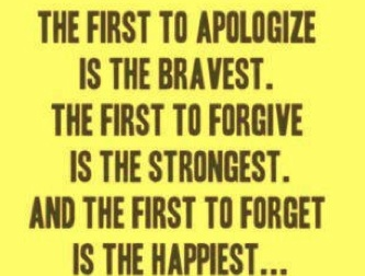 the first...