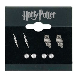 I am actually sad that I didn't know these existed until now. I have three piercings on each lobe. Would have been so perfect for all things HP. Probably still going to buy them, though.