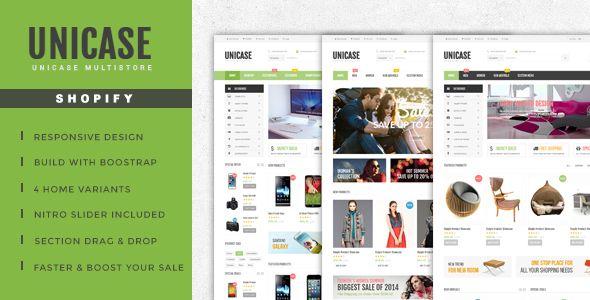 cool Unicase - Electronics Retailer Shopify Theme (Shopify)