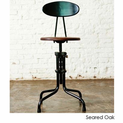 Adjustable Stool w/ Backrest | INMOD