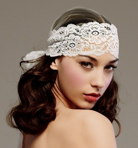 My head piece for the wedding, so beautiful.