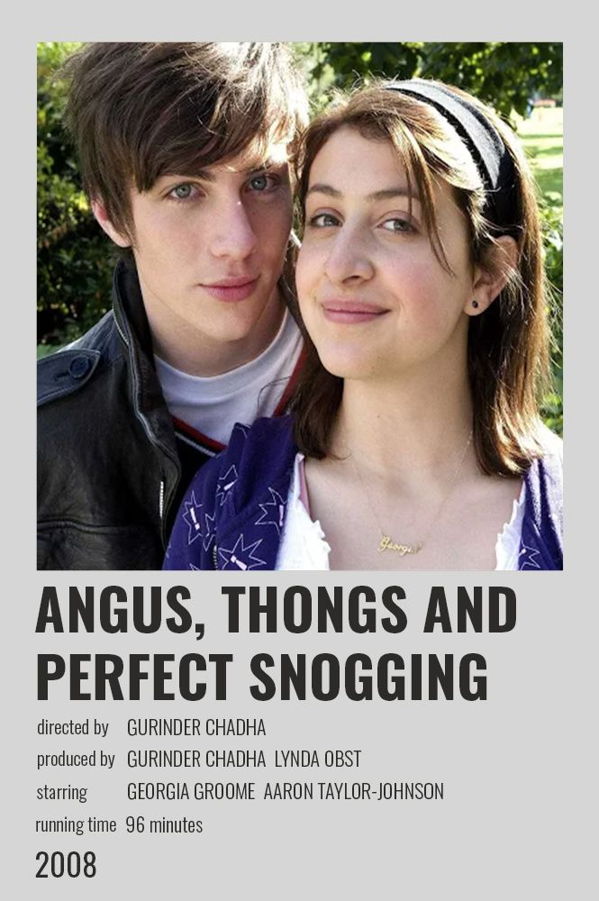 Angus Thongs And Perfect Snogging Polaroid Poster Film Posters Minimalist Movie Posters Minimalist Iconic Movie Posters