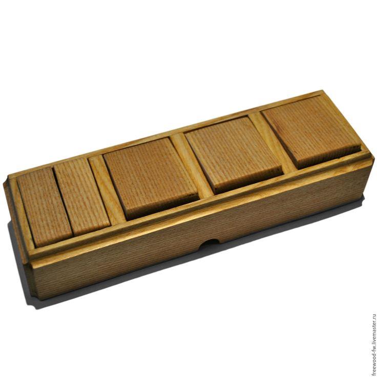 Купить Выключатель 4 пост. внешний (Ясень) (Classic Out) - лимонный, дерево, деревянная, деревянный
