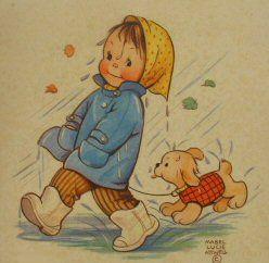 Rain - Mabel Lucie Attwell