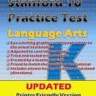 Stanford 10 Practice Test Packet (Language-Kindergarten)