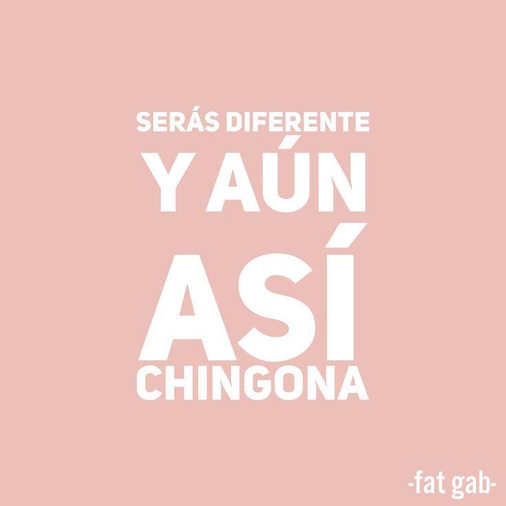 Jamás te disculpes por ser diferente  #quoteoftheday #mantradeldia Cambios y frases motivadoras, inspiración de Fat Gab Curvy blogger Gabilú Mireles girl power quote rosa pink mente, hipnosis, fuerza mental, positiva