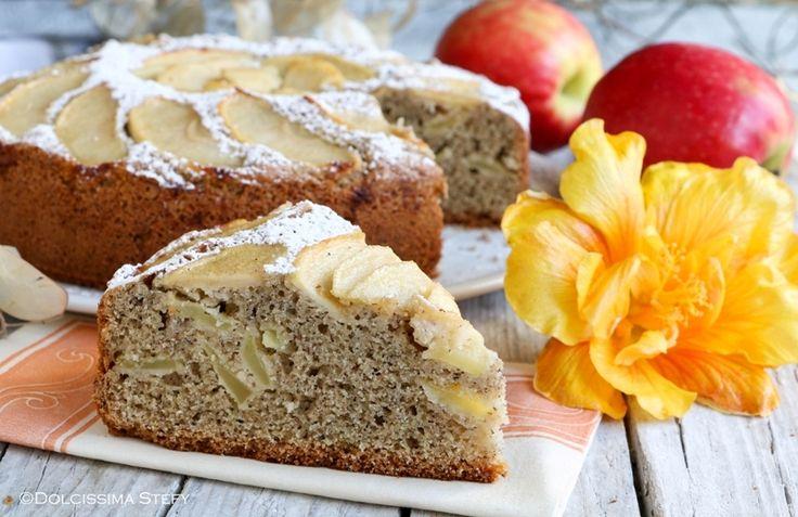Torta+di+Grano+Saraceno+e+Mele