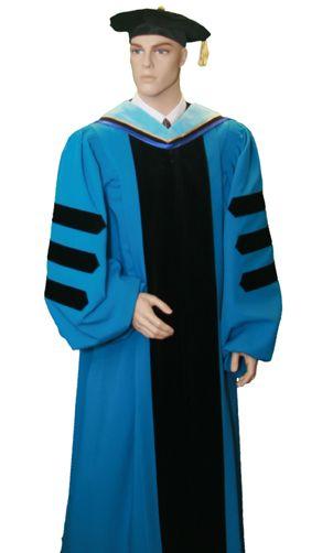 Custom Yale PhD Doctoral Gown