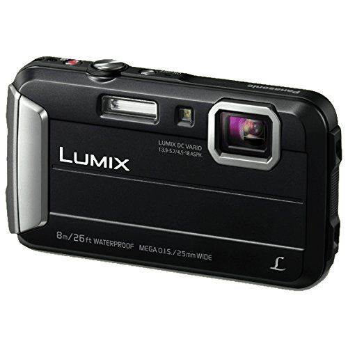 Panasonic Lumix DMC-FT30EB-K Waterproof Action Camera - Black (16 MP, 4x Optical Zoom)
