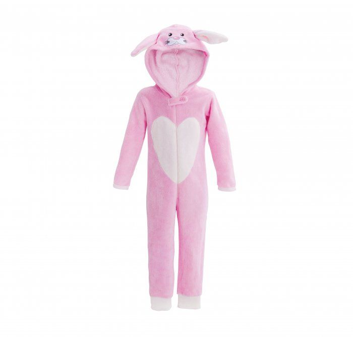 There's a rabbit in a onesie! 2-7 years