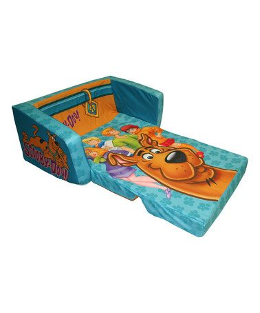 Look what I found on #zulily! Scooby-Doo Paws Flip-Open Sofa #zulilyfinds