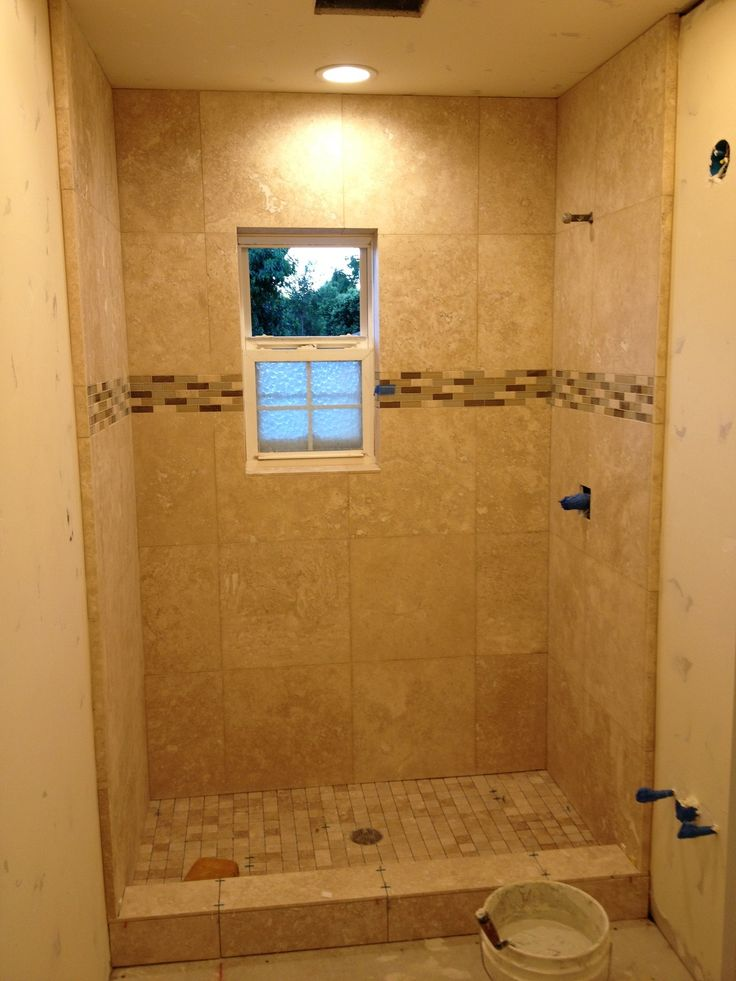 12 best images about tile shower on pinterest for Bathroom ideas 9x12