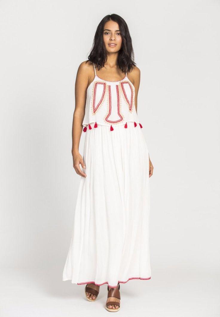 Solito - Biba Maxi Dress In White Biba