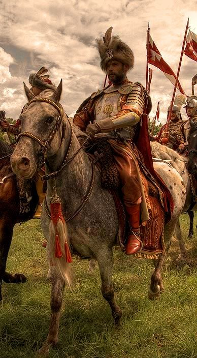 Polish knight. 17th century.