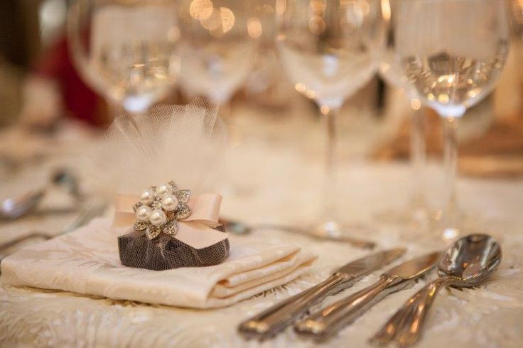 Sweet and Elegant Table set up http://www.fusion-events.ca/