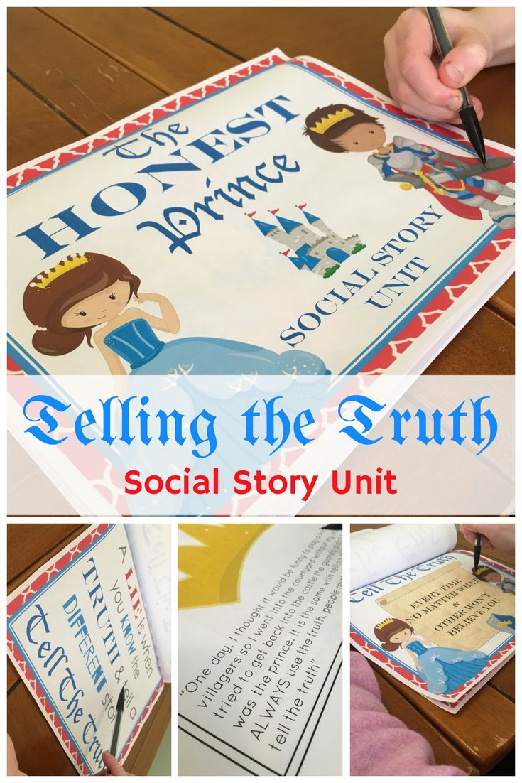 images about social stories the social lying the honest prince