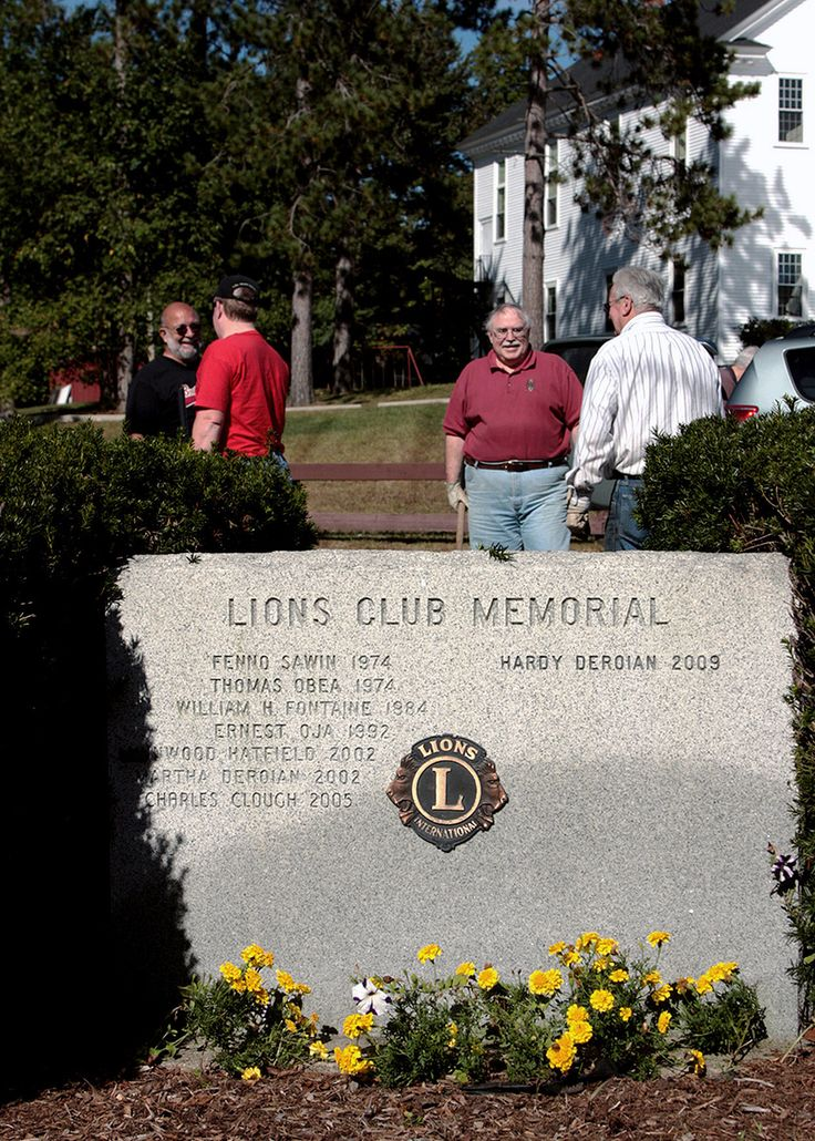 Townsend Lions Club Memorial in Townsend Center album