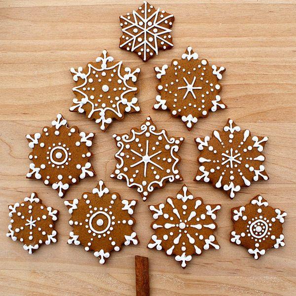 Новогоднее имбирное печенье рецепт с фото, Рецепты рождественского ...