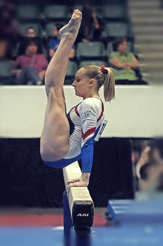 Marine Brevet-just look at her muscles that's some serious strength