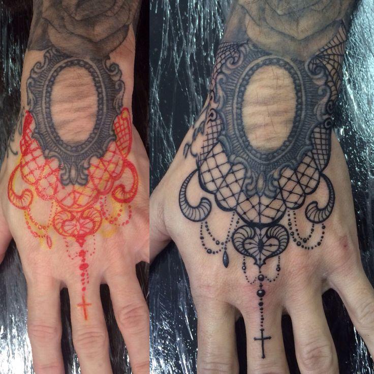 free hand tattoo lace tattoo my tattoos pinterest tattoo free hand tattoo and tatting. Black Bedroom Furniture Sets. Home Design Ideas