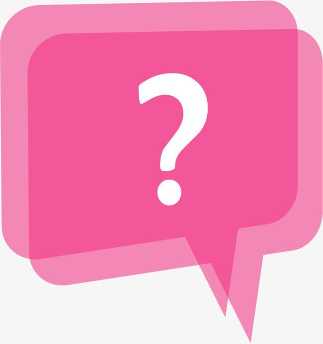 Resultado de imagen para signo de pregunta rosa icono