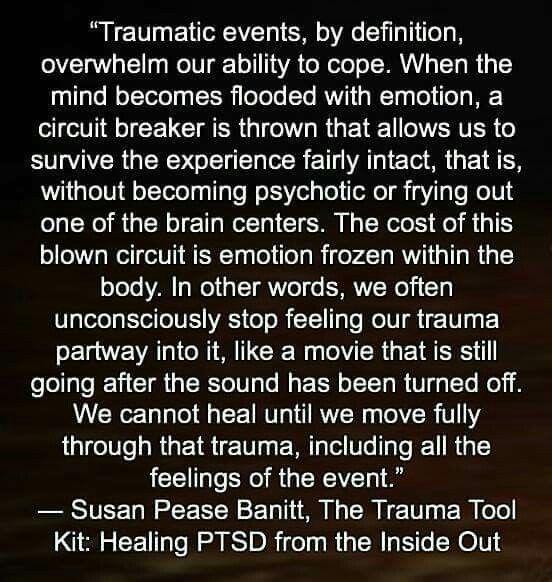 PTSD, betrayal causes trauma, betrayal IS trauma.