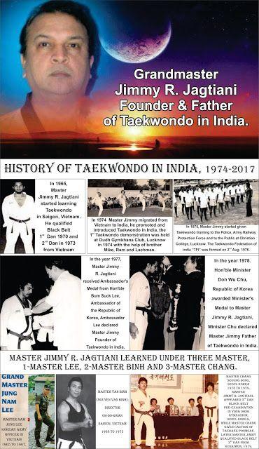 HISTORY OF TAEKWONDO IN INDIA - 1974. : HISTORY OF TAEKWONDO IN INDIA - 1974.