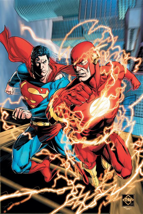 The Flash Races the Rogues (DC Super Heroes: DC Super Hero Stories)