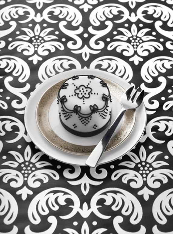 Black & White Little Cake