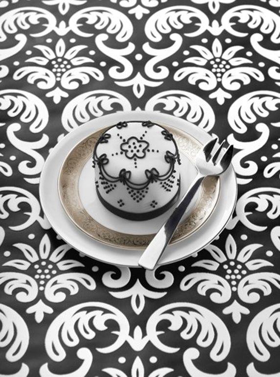 Black & White Little Cake