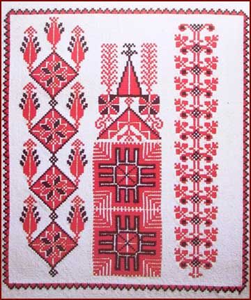 Palestinian Embroidery ( Tatreez ) Needle work