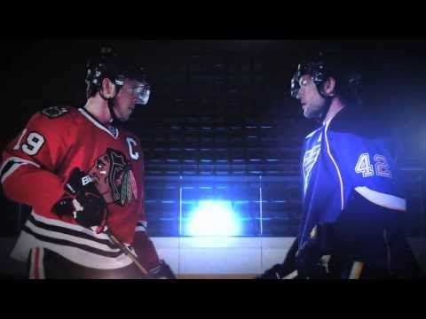 Grooming for NHL Media Days/NBC Sports; directed by Emmy Award winning international Director, DP, Cinematography & Photographer Scott Duncan; promo spot - 'Wednesday Night Rivalry: Collision course on NBC Sports Network' ©®