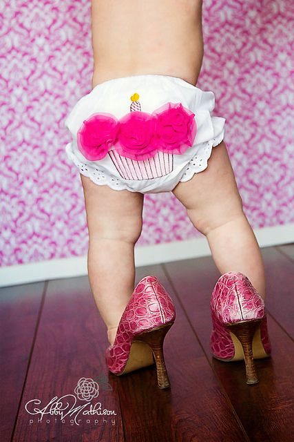 1 year old diva by AbbyMPhotography, via Flickr