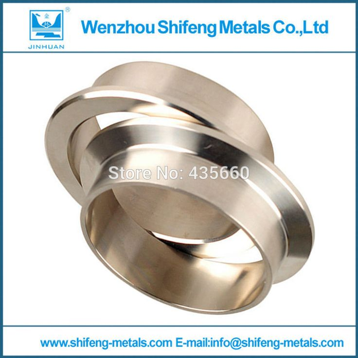 2.75'' 69.9mm V-Band Vband Clamp CNC Stainless Steel Flange Flanges Turbo Downpipes Silver