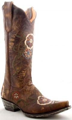 Womens Old Gringo Tyler Boots Volcano Brass #L585-5 via @allen sutton Boots
