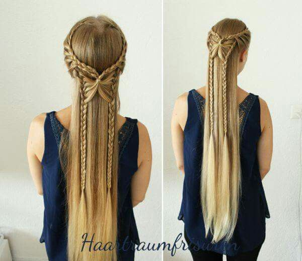 Fairy Tale Princess Hairstyle... WOW!!! (Should Try)