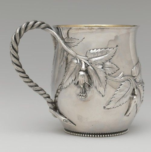 Silver And Silver Gilt Cup Attributed To John C. Moore (c.1802-1874) - American, NewYork c. 1853 - The Metropolitan Museum Of Art