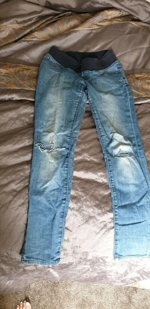 bd0036a59fd2d Advertisement)eBay- Blooming marvellous Maternity Jeans Size 10 ...