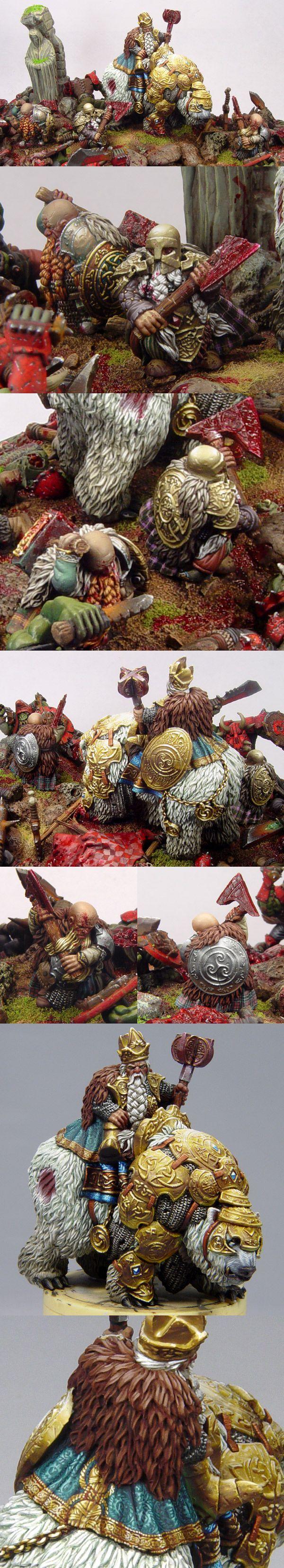 Scibor`s dwarfes and dwarf king
