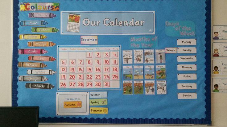 Calendar Area