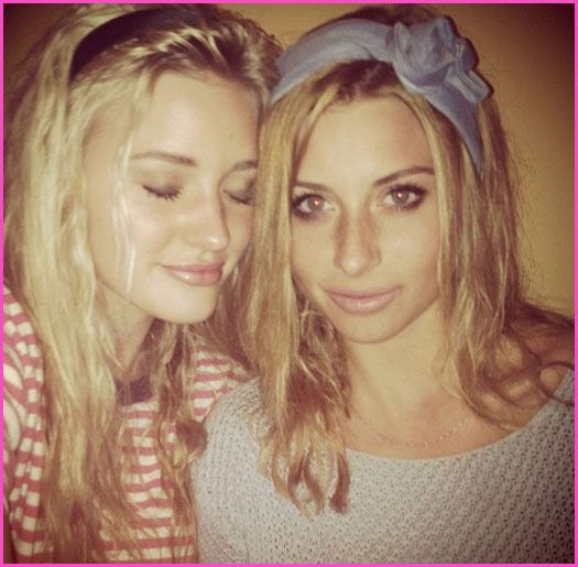 Aly And AJ Michalka Are Reunited After A Summer Of Filming Movies