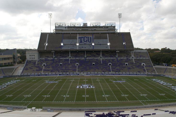 college football stadiums | TCU Football Stadium - Big 12 Football Online