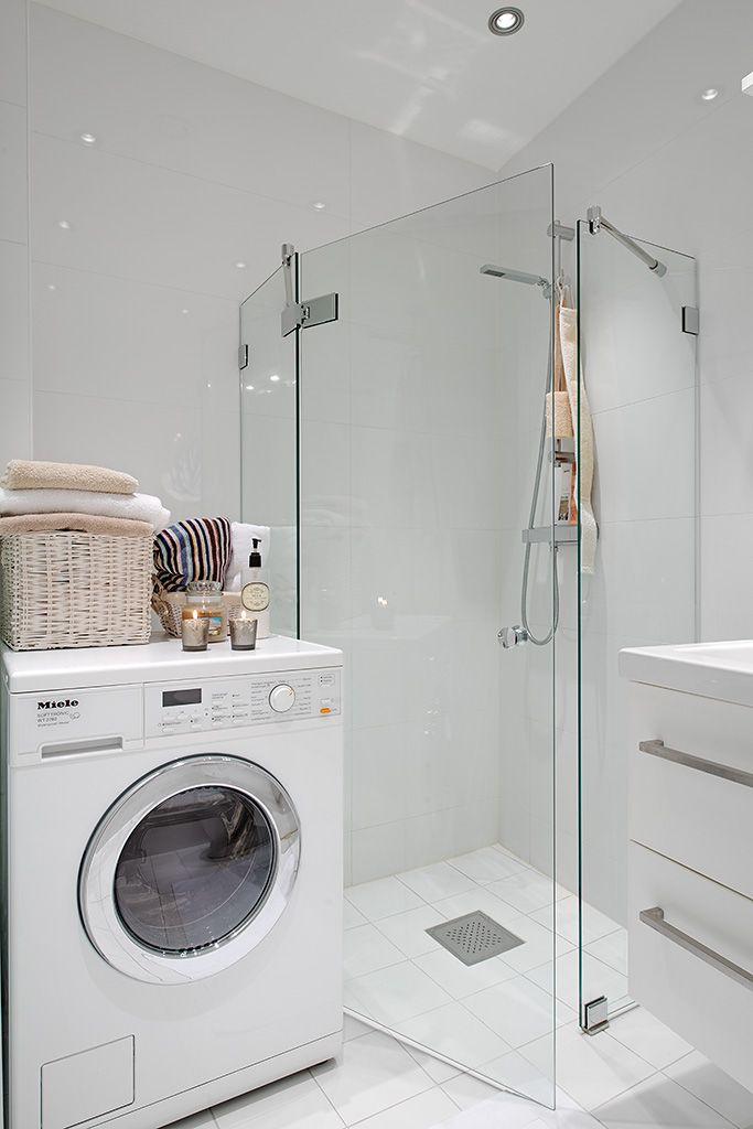 Tvättmaskin med inbyggd torktumlare BADRUM Pinterest
