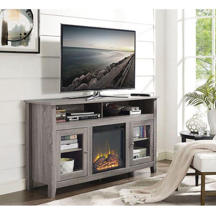 Fireplace TV Stand fireplace tv stand : Best 20+ Fireplace tv stand ideas on Pinterest | Stuff tv, Outdoor ...