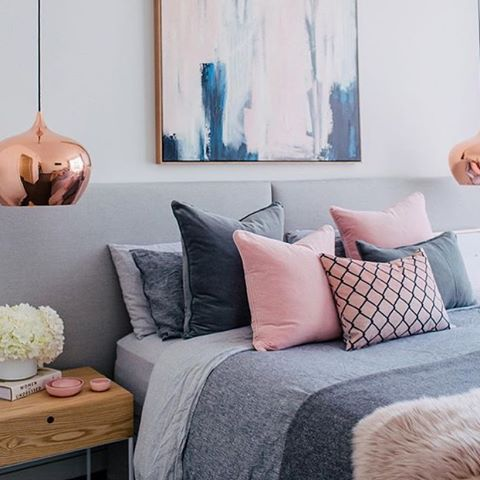 How stunning is this bedroom setup designed by the lovely @littlelibertyrooms and styled by @aimeestylist by @hannahblackmore, for the very exciting first print issue of @adoremagazine (previously online only) I cannot wait to get my hands on a copy