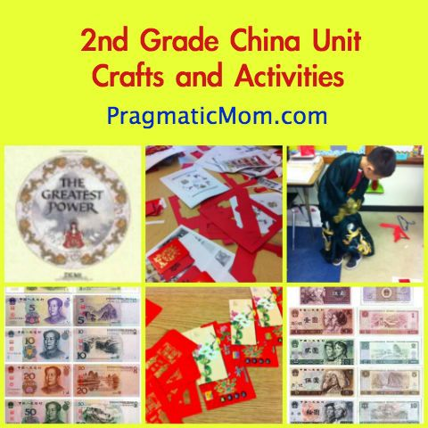 Red Envelope Crafts for 2nd Grade China Unit to go with The Greatest Power by Demi :: PragmaticMom
