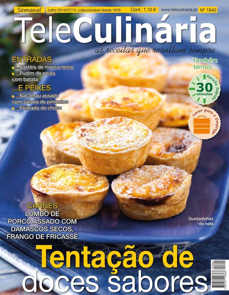 TeleCulinária 1840.  Disponível em formato digital: www.magzter.com Visite-nos em www.teleculinaria.pt