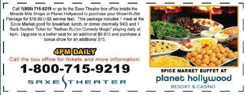 Excalibur las vegas buffet coupons